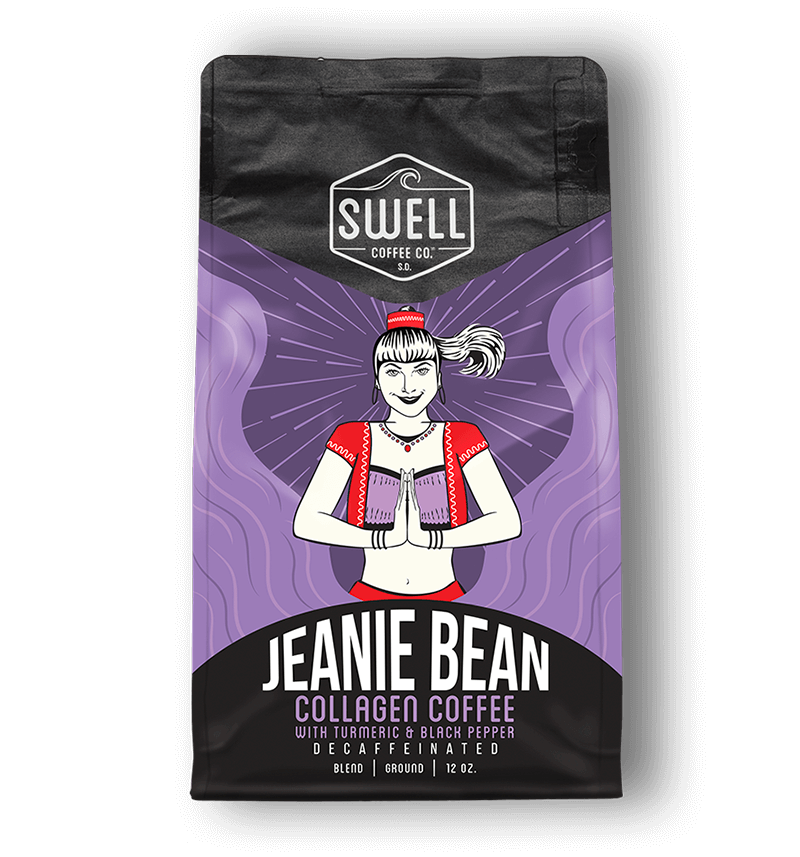 Decaf Jeanie Bean Collagen Coffee
