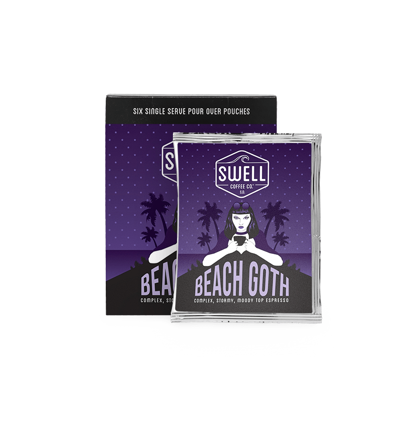 Beach Goth – Camper Pour Packs – 6 Pack